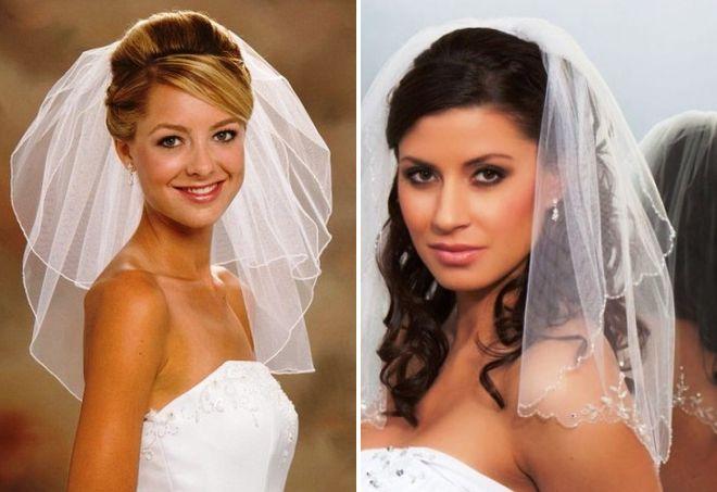 Свадебные причёски без чёлки фото
