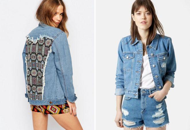 Модная джинсовая куртка 2017-2018