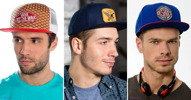 Молодежные кепки поло