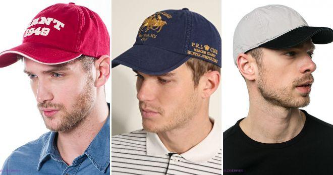 Стильные кепки поло