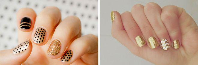 Дизайн ногтей френч с рисунком и не только