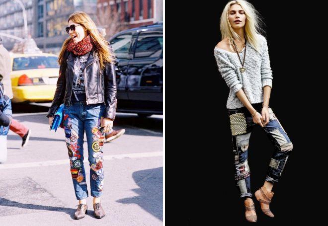 джинсы для девушек 2017