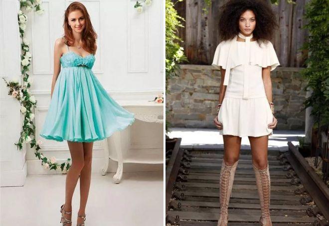молодежные платья для девушек 2017