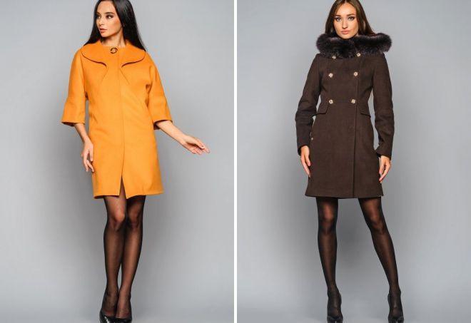 классическое кашемировое пальто