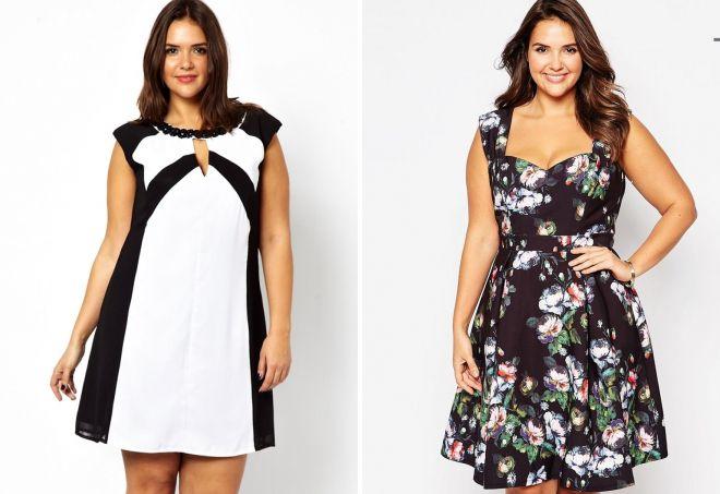 стильные короткие платья 2017