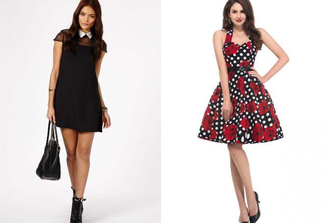 модные короткие платья 2017