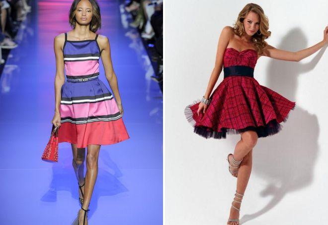 короткие платья ретро 2017