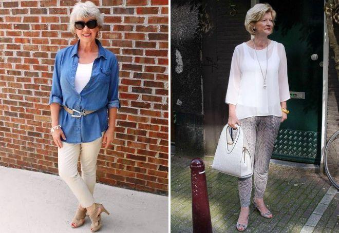 модный образ 2017 для женщины после 50