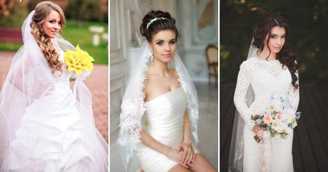 Свадебные прически под фоту