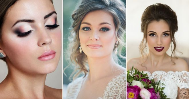 Макияж невесты 2017 модные тенденции фото