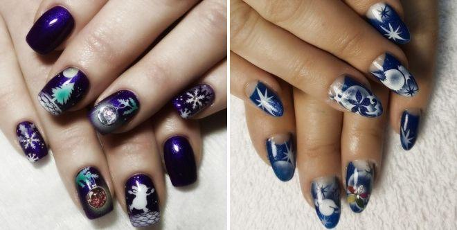 роспись ногтей гель лаками