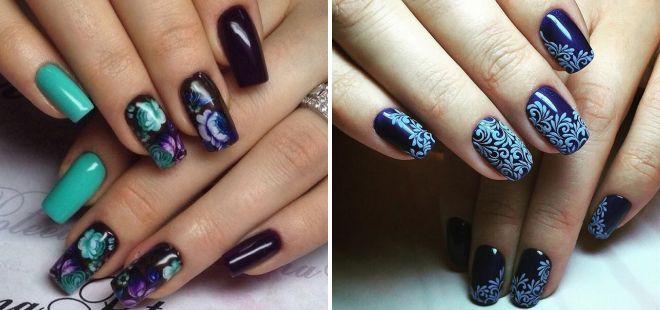 дизайн ногтей роспись