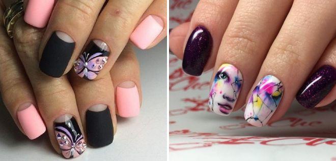дизайн ногтей роспись 2018