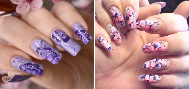 дизайн ногтей китайская роспись 2018
