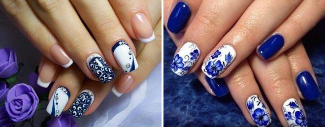 шикарные росписи на ногтях