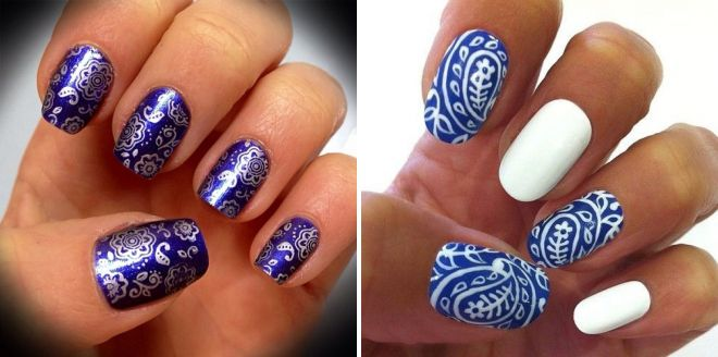 краски для росписи ногтей