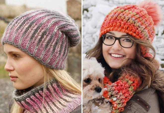 Шапки женские зима 2018 2018 года модные тенденции своими руками 16