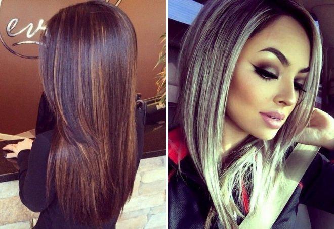 мелирование волос модный цвет 2018