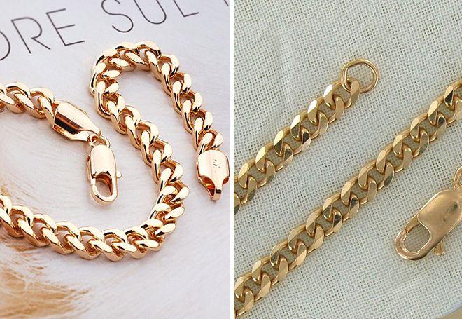 Самые красивые плетения золотых цепочек