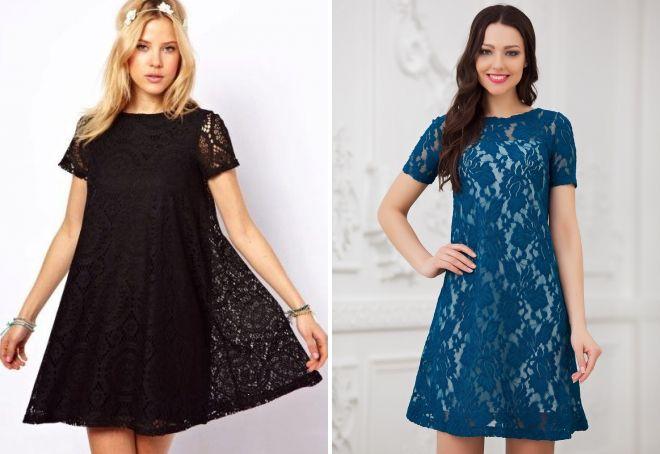 Платье-трапеция модно или нет
