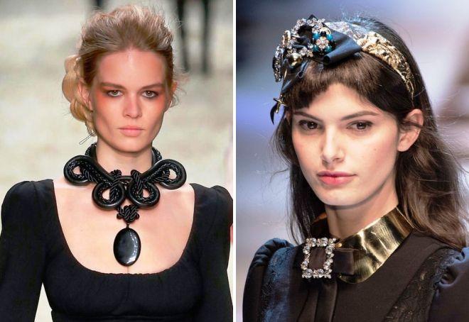 какие украшения модны в 2017 году