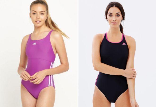 спортивные купальники adidas