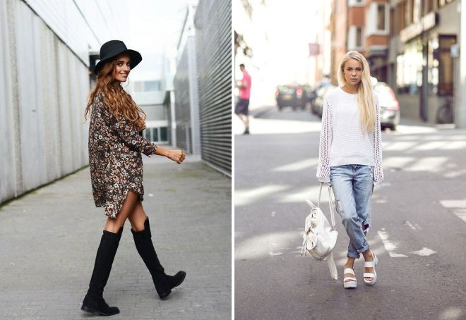 уличная мода осень 2017 образы
