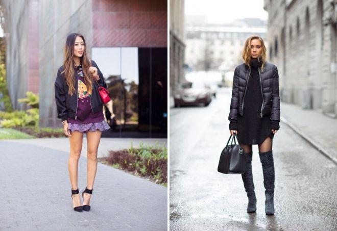 женский модный лук осень 2017