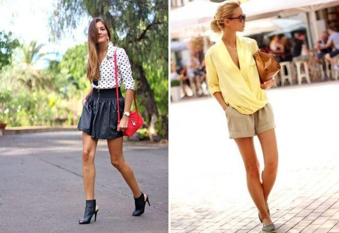 стильные блузки с длинным рукавом