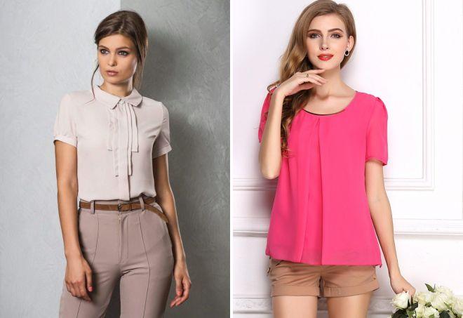 стильные блузки 2017