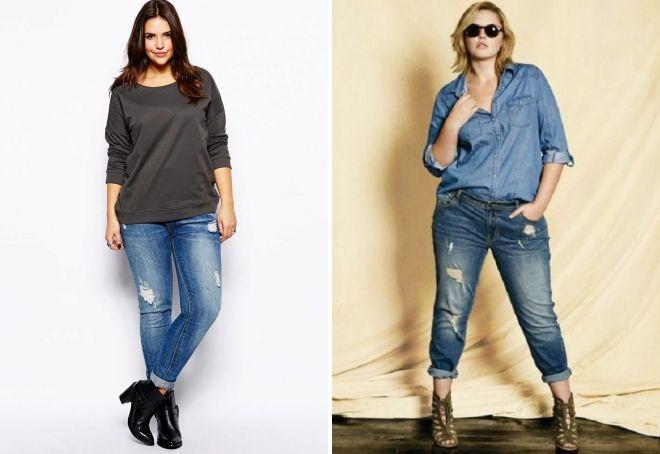 выкройка джинсов для женщины
