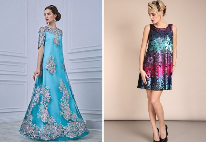модные платья а силуэта 2017