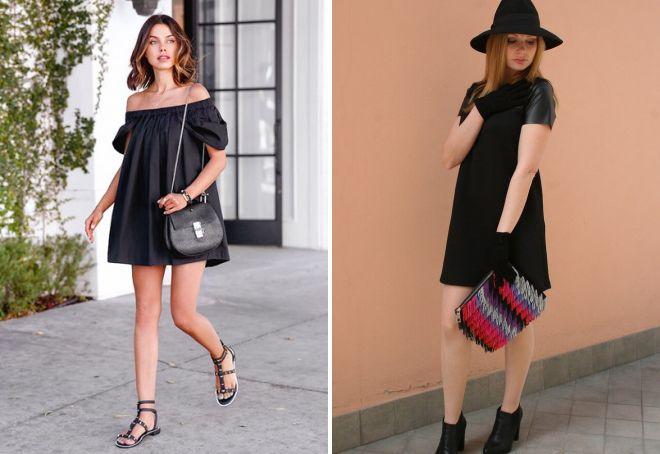 маленькое черное платье а силуэта