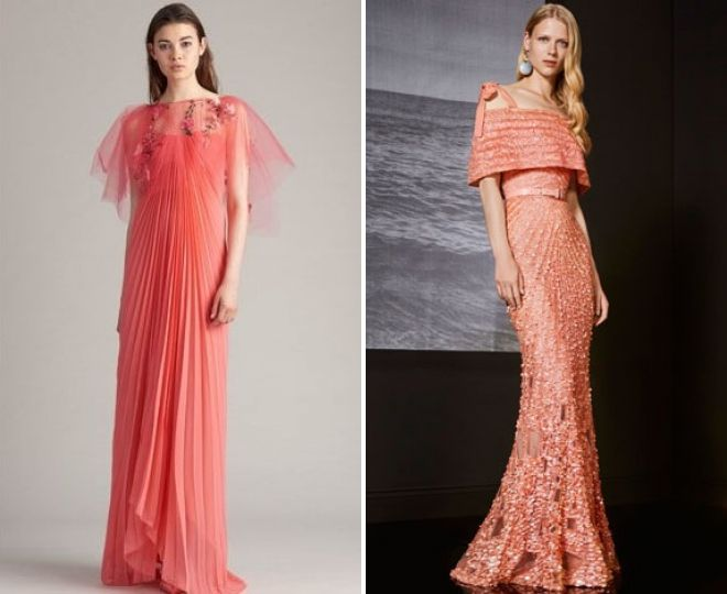 платья в пол на выпускной 2018