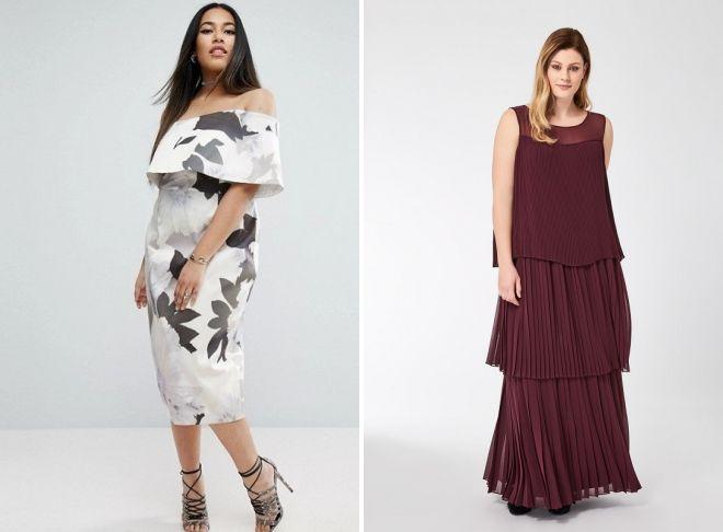 идеи платья на выпускной 2018