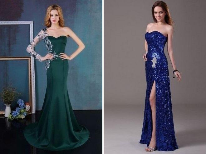 самые красивые платья на выпускной 2018