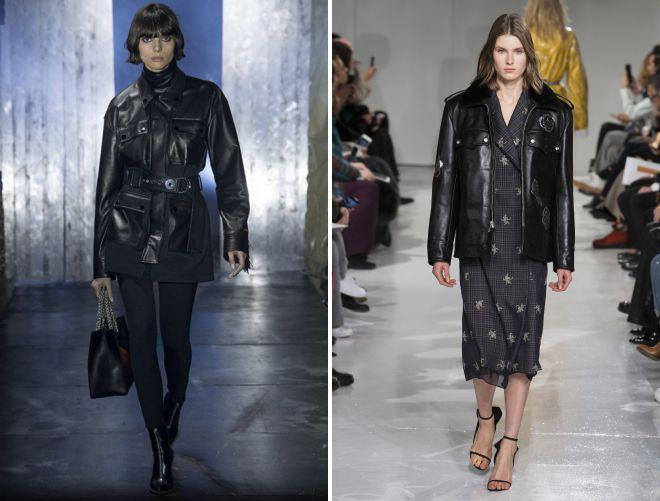 С чем носить женскую кожаную куртку-косуху
