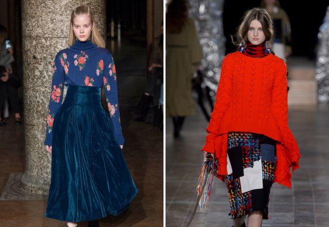 модные осенние юбки 2017