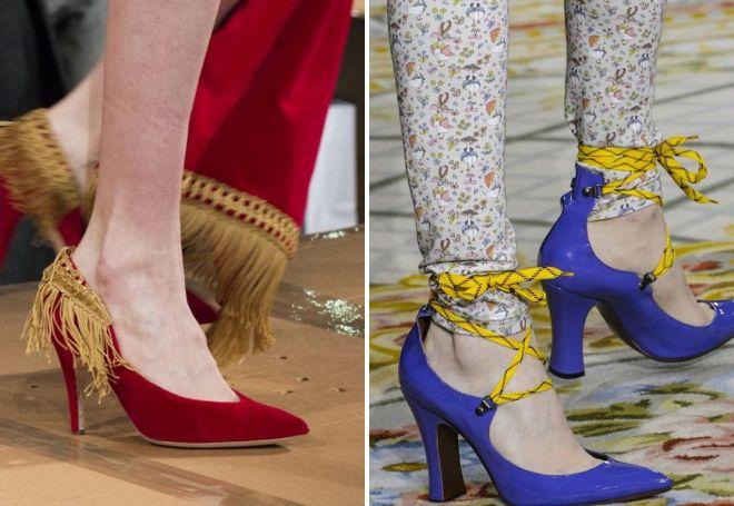 модная женская осенняя обувь 2017