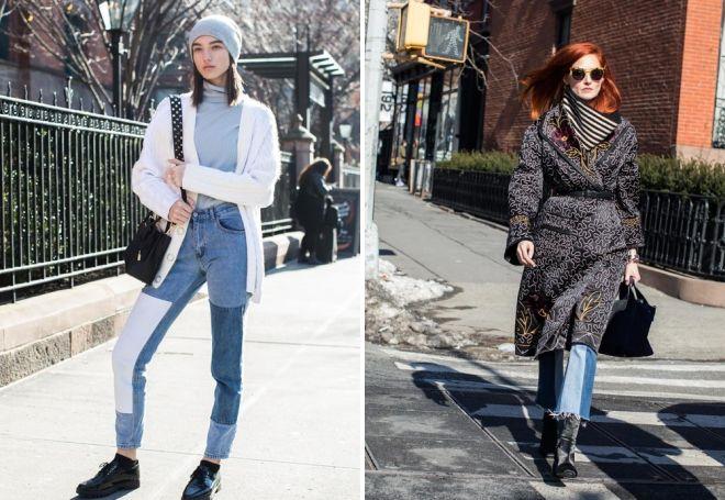 модные образы осень 2017