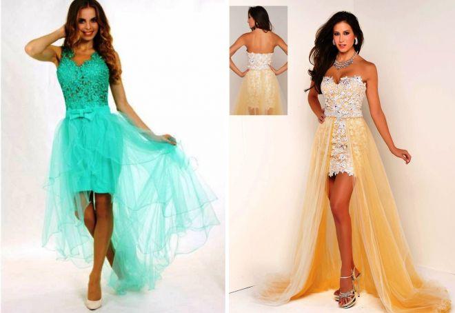 платье трансформер из фатина