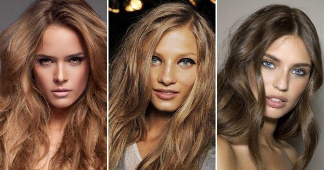 Окрашивание волос в цвет капучино
