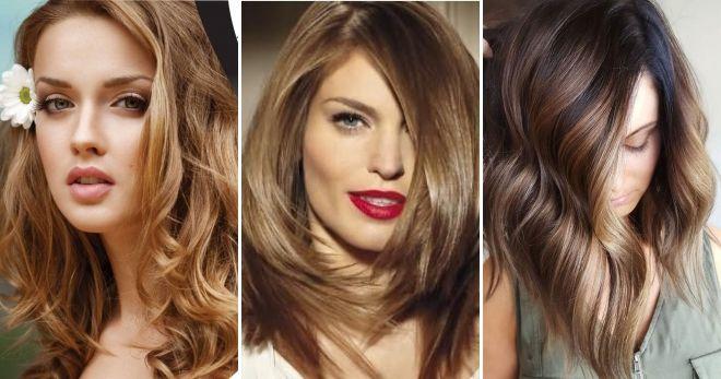 Окрашивание волос в цвет капучино дизайн