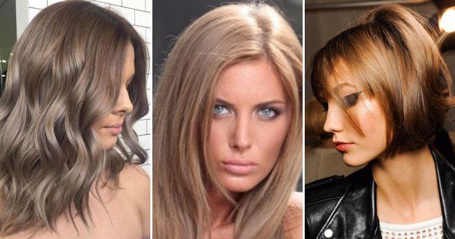 Окрашивание волос в цвет капучино мода