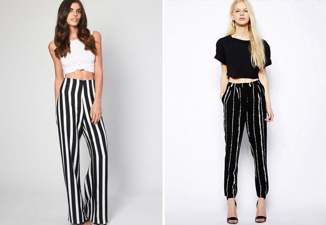 Летние женские брюки 7 8