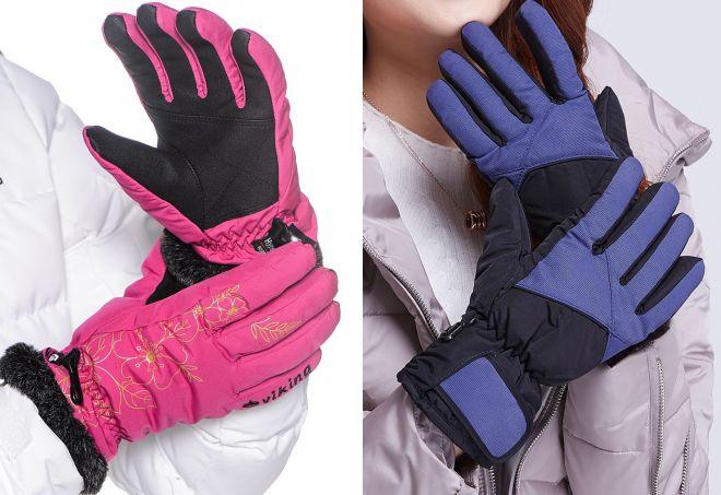 зимние непромокаемые перчатки