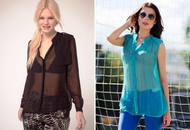 блузки в моде 2017
