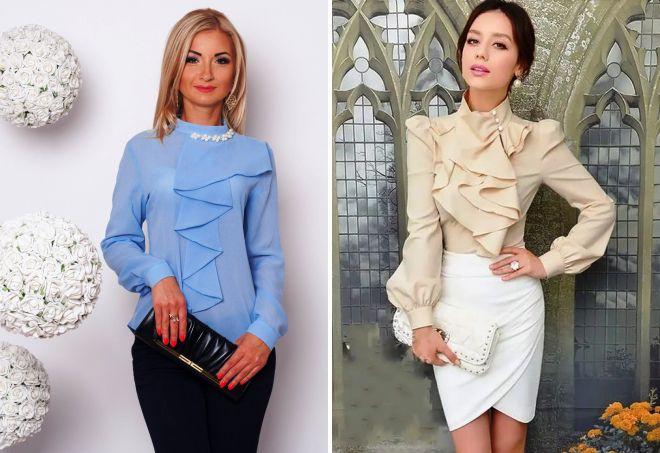 Лучшие женские блузки и туники 2017
