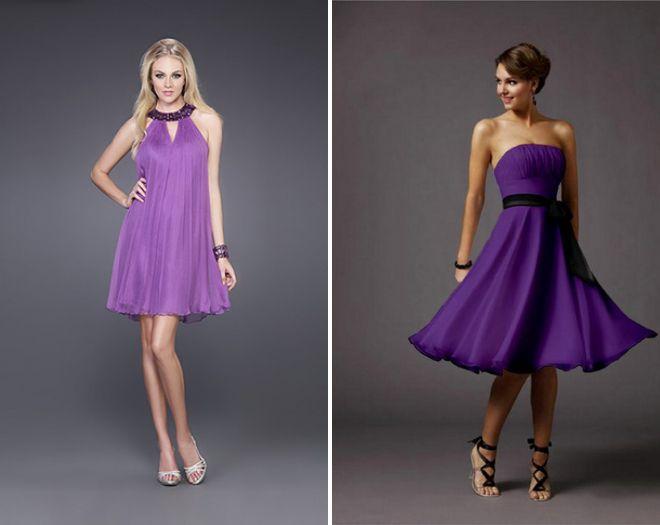 Фиолетовое вечернее платье - купить в интернете Украина Полтава
