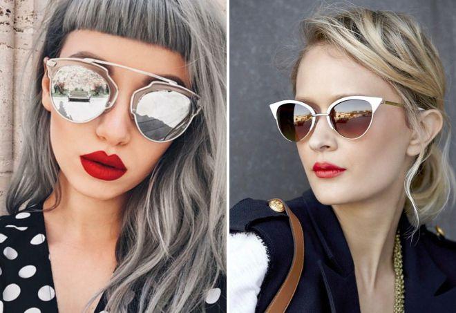 Модные очки 2018 - Фото, тренды, стильные оправы